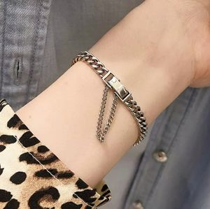 NEW 925 STERLING SILVER PLATED LINK CHAIN BRACELET